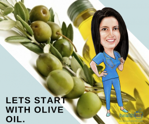 lets start with olive oil