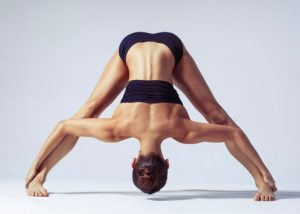 bikram yoga by woman
