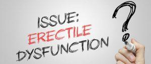 issue erectile dysfunction