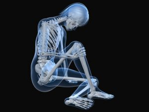 man's weakening of bones