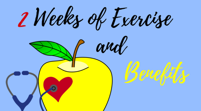 2 Weeks of Exercise & Benefits
