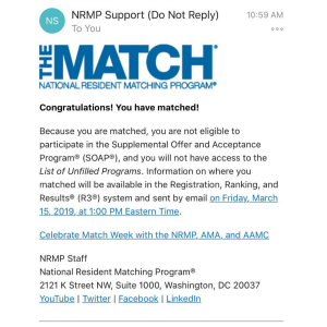 national resident match program Email