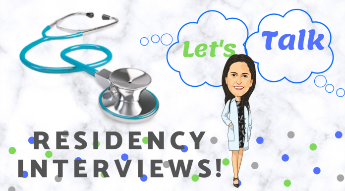 Let's talk Residency Interviews!