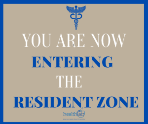 You are now Entering the Resident Zone | Family Medicine Residency